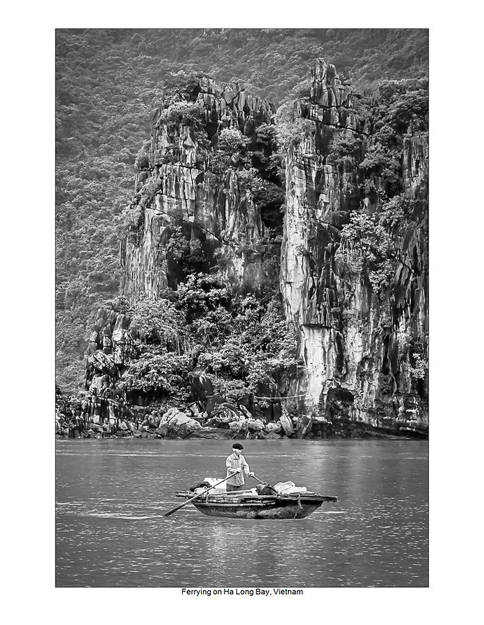 Ferrying on Ha Long Bay, Vietnam