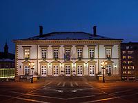 Rathaus auf Place Guillaume II, Luxemburg-City, Luxemburg, Europa, UNESCO-Weltkulturerbe