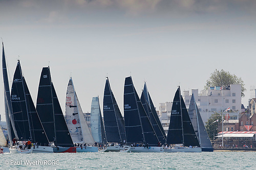 IRC One Start at the RYS Line Cowes