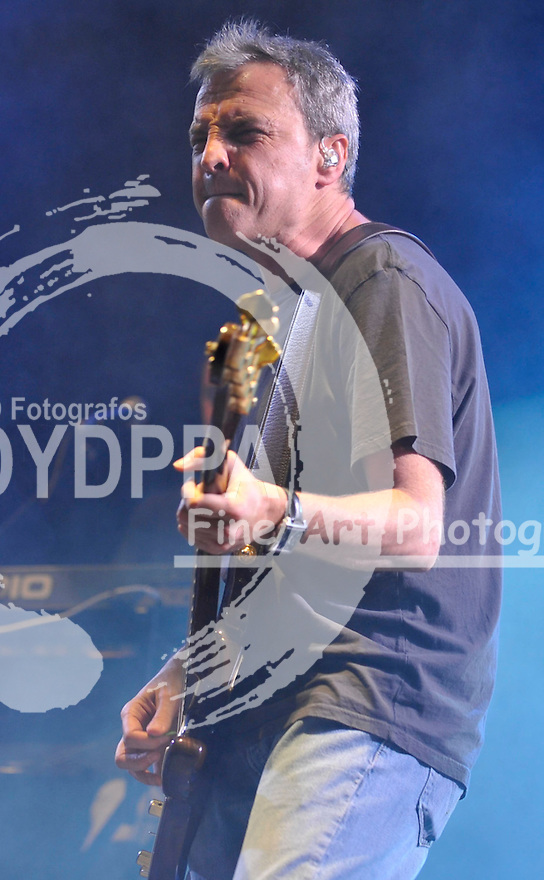 29/06/2012. Alcala De Henares. Madrid. Spain. Spanish band ®Hombres G®plays for a benefict couse.(c) Ivan espinola/ DyD Fotografos