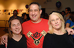 From left: Darcy and Mark Curtin with Cynthia Hoyt at the Luck of the Draw benefit at Diverse Works Wednesday July  01, 2009. (Dave Rossman/ For the Chronicle)
