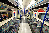 NOV 20 Empty Tube travel during Lockdown