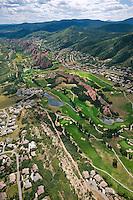 aerial of Roxbourgh Park