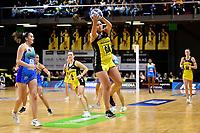 Te Amp Amaru-Tibble of the Pulse during the ANZ Premiership Netball - Te Wānanga o Raukawa Pulse v Northern Mystics at TSB Bank Arena, Wellington, New Zealand on Monday 10 May 2021.<br /> Photo by Masanori Udagawa. <br /> www.photowellington.photoshelter.com