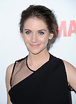 Alison Brie at The AMC Premiere of The 6th Season Of Mad Men held at The DGA in West Hollywood, California on March 20,2013                                                                   Copyright 2013 Hollywood Press Agency