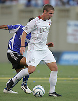 23 July 2005:  Jeff Parke of the MetroStars in action against the Earthquakes at Spartan Stadium in San Jose, California.  Earthquakes defeated MetroStars, 2-1.  Credit: Michael Pimentel / ISI