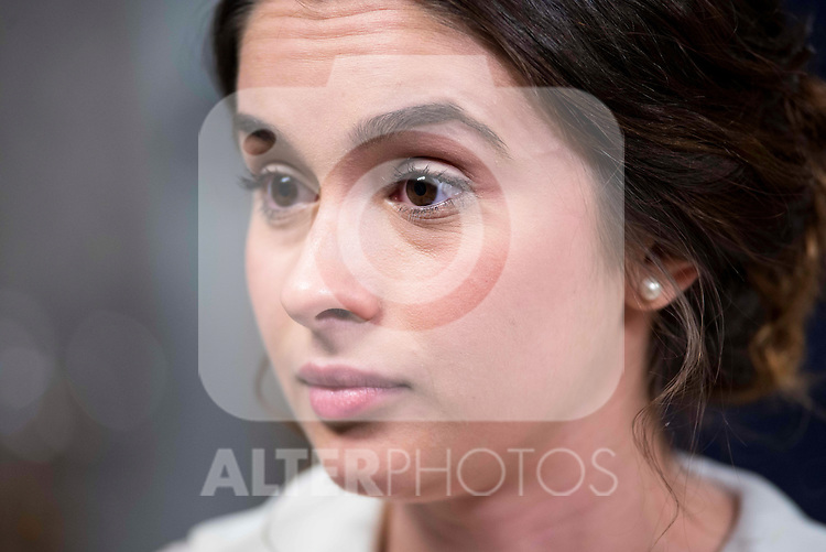 """Giulia Charm during the presentation of the new characters for the new season of the tv series """"El Secreto de Puente Viejo""""  in Madrid, February 10, Madrid."""