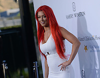 Eva Marie @ the 4th annual Kaleidoscope ball held @ 3LABS.<br /> May 21, 2016