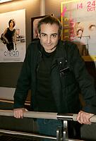 October 14 2004, Montreal (Quebec) CANADA<br /> Filmmaker Olivier Assayas at the New Cinema Festival <br /> opening reception, October 14 2004