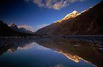 Reflecting pool, Baltoro Valley, Pakistan