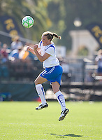 Kacey Moore. FC Gold Pride defeated the Boston Breakers, 2-1, in their home opener on April 5, 2009 at Buck Shaw Stadium in Santa Clara, CA.