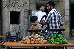 Aleppo 2013 Syria - market place