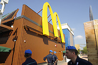 - Milano, Esposizione Mondiale Expo 2015,  fast food Mc Donald's<br /> <br /> - Milan, the World Exhibition Expo 2015, Mc Donald's fast food