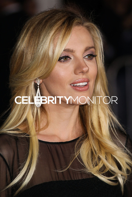 """WESTWOOD, CA, USA - FEBRUARY 24: Bar Paly at the World Premiere Of Universal Pictures And Studiocanal's """"Non-Stop"""" held at Regency Village Theatre on February 24, 2014 in Westwood, Los Angeles, California, United States. (Photo by Xavier Collin/Celebrity Monitor)"""
