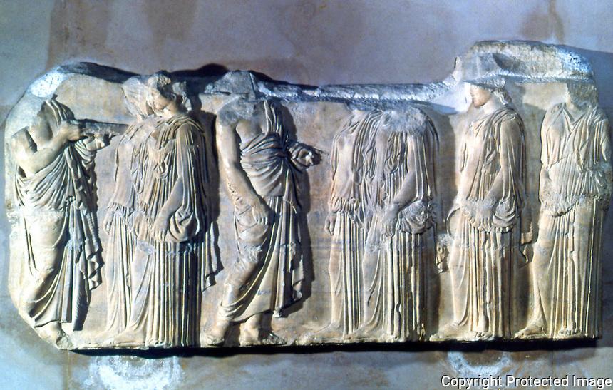 Greek Art: Procession of Panathanees