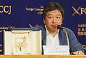 Director Hirokazu Koreeda attends press conference for Shoplifters