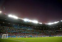 A general view of the Arena Pernambuco during play