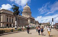 Capitolio am Paseo de Marti (Prado) in Habana, Cuba, Unesco-Weltkulturerbe