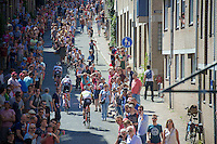 climbing their way to the start<br /> <br /> stage 3: Nijmegen-Arnhem (NLD) 190km<br /> 99th Giro d'Italia 2016