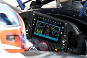 Colton Herta, Harding Steinbrenner Racing Honda, Cosworth steering wheel