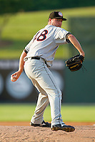 Starting pitcher Robbie Ray #48 of the Hagerstown Suns in action against the Kannapolis Intimidators at Fieldcrest Cannon Stadium on May 31, 2011 in Kannapolis, North Carolina.   Photo by Brian Westerholt / Four Seam Images