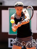 L'italiana Sara Errani agli Internazionali d'Italia di tennis a Roma, 15 maggio 2014.<br /> Italy's Sara Errani during the Italian open tennis tournament, in Rome, 15 May 2014.<br /> UPDATE IMAGES PRESS/Riccardo De Luca