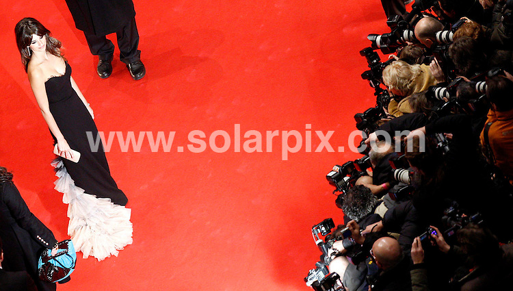 **ALL ROUND PICTURES FROM SOLARPIX.COM**.**SYNDICATION RIGHTS FOR UK AND SPAIN ONLY**.Spanish actress Penelope Cruz at the red carpet for the premiere of the movie 'Elegy' during the 58th International Filmfestival 'Berlinale' in Berlin  in Germany.JOB REF:5739          CPR        DATE:10.02.07.**MUST CREDIT SOLARPIX.COM OR DOUBLE FEE WILL BE CHARGED* *UNDER NO CIRCUMSTANCES IS THIS IMAGE TO BE REPRODUCED FOR ANY ONLINE EDITION WITHOUT PRIOR PERMISSION*
