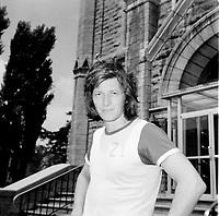 L' imitateur, humoriste et animateur québécois Claude Landre<br /> , avant son accident du 10 juillet 1972 <br /> <br /> <br /> Photo : Agence Quebec Presse - Roland Lachance