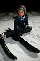 Thomas Myklebust Våland waits his turnin the old Schroderbakken ski jump.