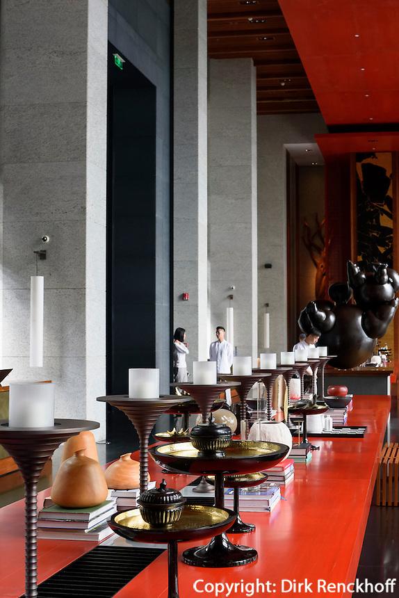 Hotel Park Hyatt Sanya, Sunny Bay Resort auf der Insel Hainan, China<br /> Hotel Park Hyatt Sanya, Sunny Bay Resort, Hainan island, China