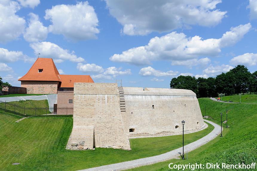 Artillerie-Bastion in Vilnius, Litauen, Europa, Unesco-Weltkulturerbe