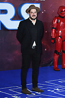 """Marcus Mumford<br /> arriving for the """"Star Wars: The Rise of Skywalker"""" premiere at the Cineworld Leicester Square, London.<br /> <br /> ©Ash Knotek  D3545 17/12/2019"""