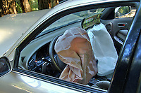 Air bags in a vehicle deployed after a vehicle accident in Occidental California