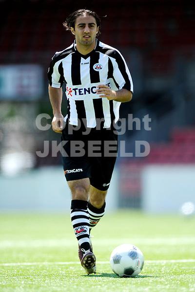 ALMELO - Persdag Heracles Almelo Eredivisie , seizoen 2011-2012, 08-07-2011 Gaby Jallo.