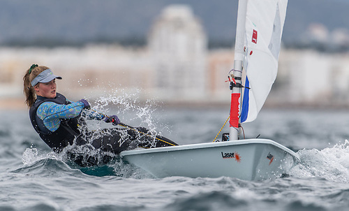 Aoife Hopkins of Howth YC finished sixth overall in the silver fleet