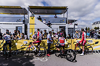 pre stage interviewing <br /> <br /> Stage 4 from Redon to Fougéres (150.4km)<br /> 108th Tour de France 2021 (2.UWT)<br /> <br /> ©kramon