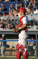 July 19, 2003:  Cory VonTungelin of the Batavia Muckdogs during a game at Dwyer Stadium in Batavia, New York.  Photo by:  Mike Janes/Four Seam Images