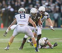 SAN FRANCISCO, CA - December 29, 2012: Navy Midshipmen vs the Arizona State Sun Devils in the 2012 Kraft Fight Hunger Bowl at AT&T Park in San Francisco, California. Final score Navy 28, Arizona State 62.