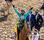 November 7, 2020 : Whitmore, ridden by Irad Ortiz, Jr., wins the Sprint on Breeders' Cup Championship Saturday at Keeneland Race Course in Lexington, Kentucky on November 7, 2020. Scott Serio/Eclipse Sportswire/Breeders' Cup/CSM