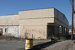 WATERBURY, CT - 18 January 2005 -011805BZ06- A former supermarket building will be part of a new shopping center called Platt's Mill Plaza on South Main Street in Waterbury.     <br /> Jamison C. Bazinet Photo.