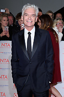 Phillip Schofield<br /> arriving for the National Television Awards 2018 at the O2 Arena, Greenwich, London<br /> <br /> <br /> ©Ash Knotek  D3371  23/01/2018