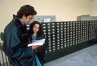 - university of Siena, library of economy department....- università di Siena, biblioteca della facoltà di economia