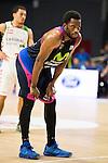 Movistar Estudiantes's Zach Graham during Liga Endesa ACB at Barclays Center in Madrid, October 11, 2015.<br /> (ALTERPHOTOS/BorjaB.Hojas)