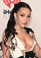 """HOLLYWOOD, CA - MAY 27:  Doja Cat the 2021 """"iHeartRadio Music Awards"""" airing live from The Dolby Theatre in Los Angeles, Thursday, May 27 (8:00-10:00 PM ET live / PT tape-delayed) on FOX. CR: Scott Kirkland/FOX/PictureGroup © 2021 FOX MEDIA, LLC. (Photo by Scott Kirkland/FOX/PictureGroup)"""
