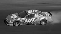 Greg Sacks (88) Pontiac smoking 26th place Motorcraft Quality Parts 500 at Atlanta International Raceway in Hampton , GA on March 19, 1989.  (Photo by Brian Cleary/www.bcpix.com)