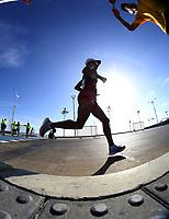 BARRANQUILLA - COLOMBIA, 03-08-2018: Atletas durante su participación en maratón masculina como parte de los Juegos Centroamericanos y del Caribe Barranquilla 2018. /  Athletes during their participation in men's marathon of the Central American and Caribbean Sports Games Barranquilla 2018. Photo: VizzorImage /  Cont