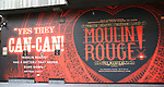 """Billboard for Billboard for """"Moulin Rouge!"""" The Broadway Musical at the Al Hirschfeld Theatre on July 9, 2019 in New York City."""