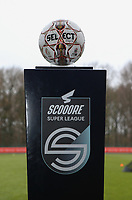 Match ball pictured before a female soccer game between Standard Femina de Liege and RSC Anderlecht on the 9th matchday of the 2020 - 2021 season of Belgian Scooore Womens Super League , saturday 12 th of December 2020  in Angleur , Belgium . PHOTO SPORTPIX.BE | SPP | SEVIL OKTEM