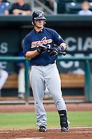 Matt LaPorta (3) of the Huntsville Stars at bat at the Baseball Grounds in Jacksonville, FL, Wednesday June 11, 2008.