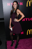 WEST HOLLYWOOD, CA - DECEMBER 05: Cara Santana arriving at the Nylon Magazine December 2013/January 2014 Cover Launch Party held at Quixote Studios on December 5, 2013 in West Hollywood, California. (Photo by Xavier Collin/Celebrity Monitor)